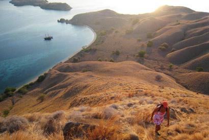 trekking komodo Komodo Aventure